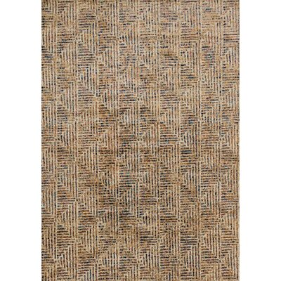 Dreamscape Brown Area Rug Rug Size: Rectangle 92 x 13