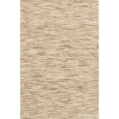 Turcios Hand-Woven Beige Area Rug Rug Size: Rectangle 79 x 99