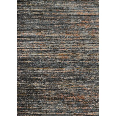 Dangelo Gray Area Rug Rug Size: Rectangle 5 x 76
