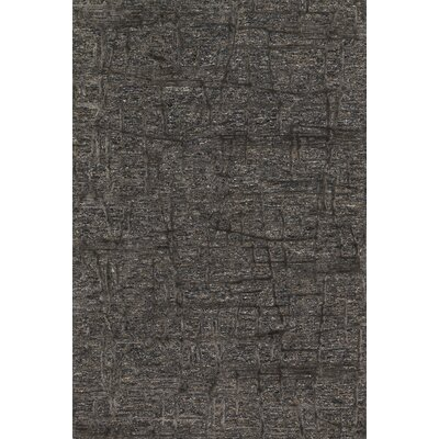 Juneau Hand-Tufted Gray Area Rug Rug Size: Rectangle 36 x 56