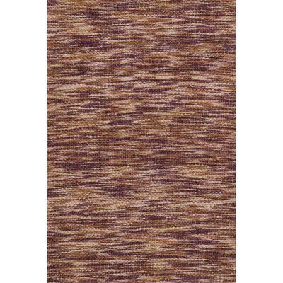 Carrick Hand-Woven Brown Area Rug Rug Size: 79 x 99