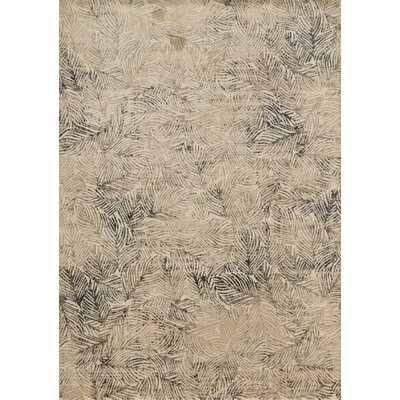 Dangelo Beige Area Rug Rug Size: Rectangle 5 x 76