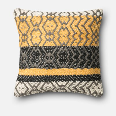 Gillett Wool and cotton Throw Pillow