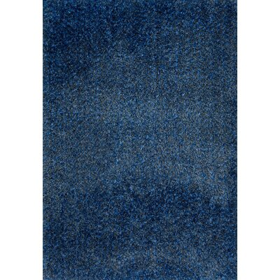 Callie Blue Area Rug Rug Size: Rectangle 76 x 96