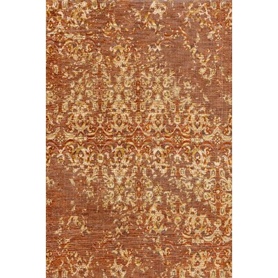Izmir Spice/Gold Area Rug Rug Size: Rectangle 28 x 10