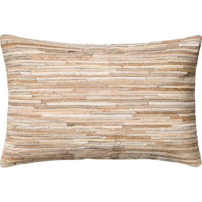 Hode Lumbar Pillow Color: Beige
