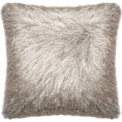 Wyckoff Throw Pillow Color: Silver