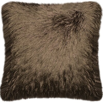 Wyckoff Throw Pillow Color: Brown