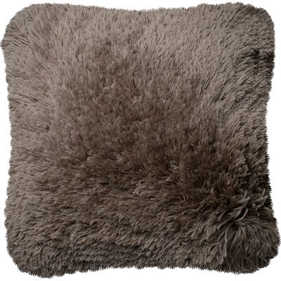 Throw Pillow Color: Taupe