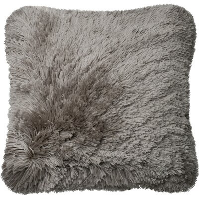 Calabash Throw Pillow Color: Gray
