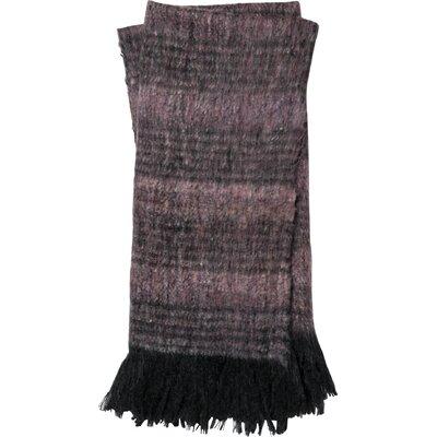 Romy Throw Color: Purple