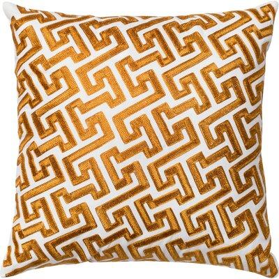 Cotton Throw Pillow Color: Gold
