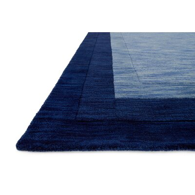 Hamilton Hand-Tufted Blue Area Rug Rug Size: Rectangle 5 x 76