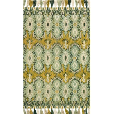 Farrah Blue/Green Area Rug Rug Size: Runner 26 x 76