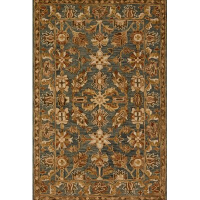 Watertown Oriental Gray/Brown Area Rug Rug Size: Rectangle 23 x 39