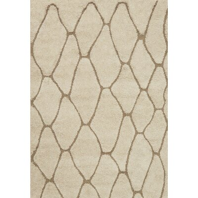 Enchant Beige Area Rug Rug Size: Rectangle 310 x 57