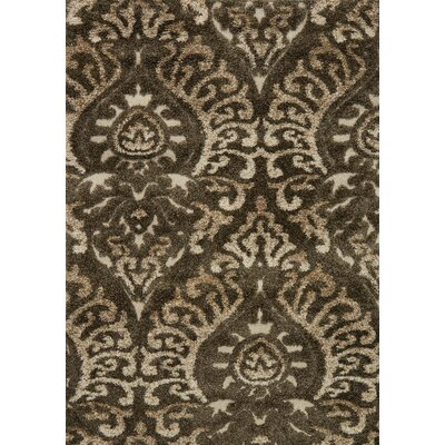 Enchant Beige Area Rug Rug Size: 77 x 106