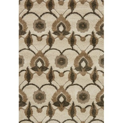 Enchant Brown/Beige Area Rug Rug Size: Rectangle 23 x 39