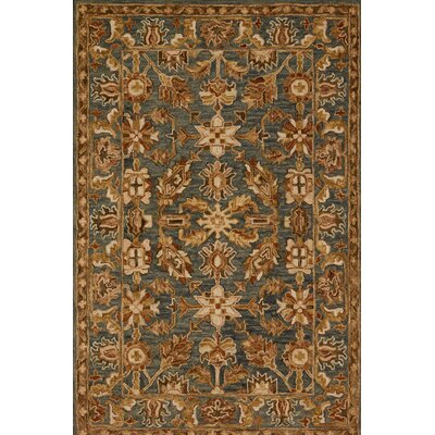 Watertown Oriental Gray/Brown Area Rug Rug Size: Rectangle 93 x 13