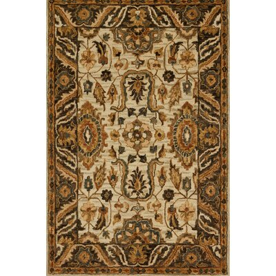 Watertown Beige/Brown Area Rug Rug Size: 79 x 99