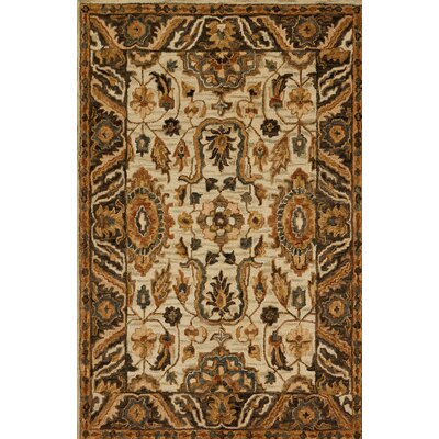 Watertown Beige/Brown Area Rug Rug Size: Rectangle 5 x 76