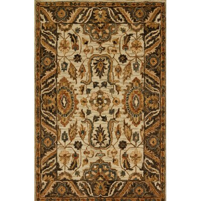 Watertown Beige/Brown Area Rug Rug Size: Rectangle 23 x 39