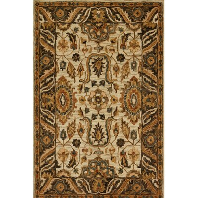 Watertown Beige/Brown Area Rug Rug Size: Rectangle 36 x 56