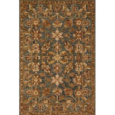 Watertown Oriental Gray/Brown Area Rug Rug Size: Rectangle 79 x 99