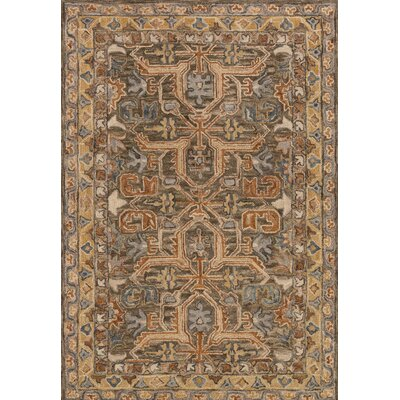 Watertown Brown Area Rug Rug Size: Rectangle 5 x 76