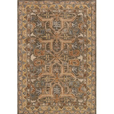 Watertown Brown Area Rug Rug Size: Rectangle 93 x 13