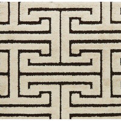 Enchant Beige/Black Area Rug Rug Size: Square 77