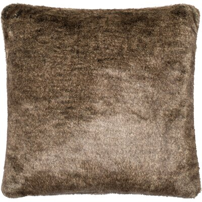 Throw Pillow Color: Light Brown