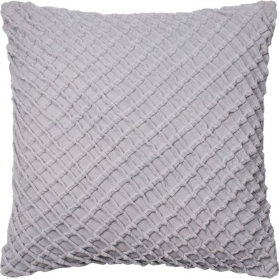 Potterville Throw Pillow Cover Color: Gray