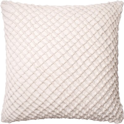 Potterville Throw Pillow Cover Color: White