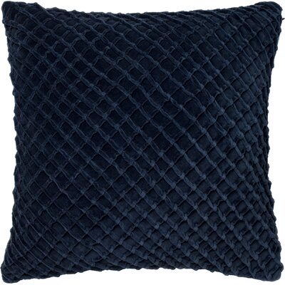 Potterville Throw Pillow Cover Color: Navy