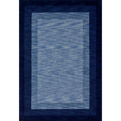 Keifer Hand-Tufted Blue Area Rug Rug Size: Rectangle 36 x 56