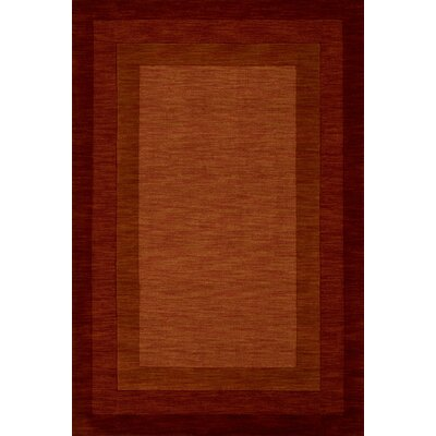Hamilton Hand-Tufted Red Area Rug Rug Size: Rectangle 36 x 56