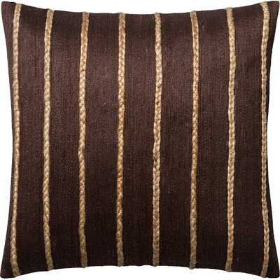 Throw Pillow Color: Brown