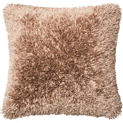 Throw Pillow Color: Tan