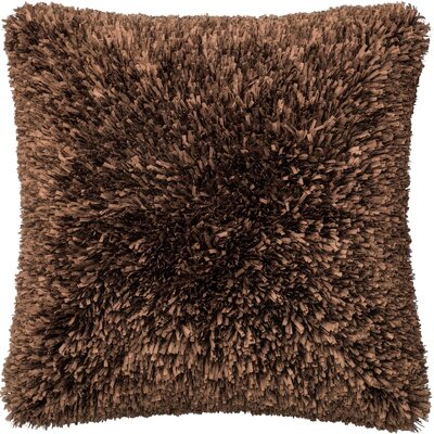 Haueiss Throw Pillow Color: Brown