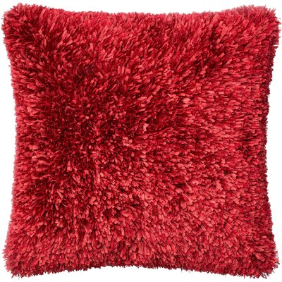 Haueiss Throw Pillow Color: Red