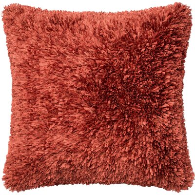 Haueiss Throw Pillow Color: Rust