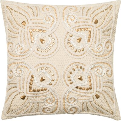 Cotton Throw Pillow Fill Material: Polyfill