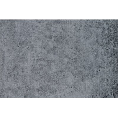 Mason Shag Hand-Tufted Gray Area Rug Rug Size: Rectangle 36 x 56