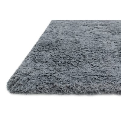 DeGennaro Hand-Tufted Gray Area Rug Rug Size: Round 710