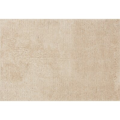 DeGennaro Hand-Tufted Sand Area Rug Rug Size: Rectangle 79 x 99