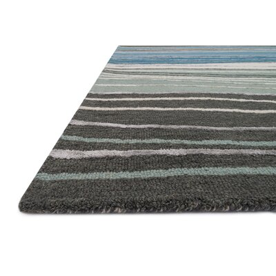 Panache Gray/Blue Area Rug Rug Size: Runner 23 x 76