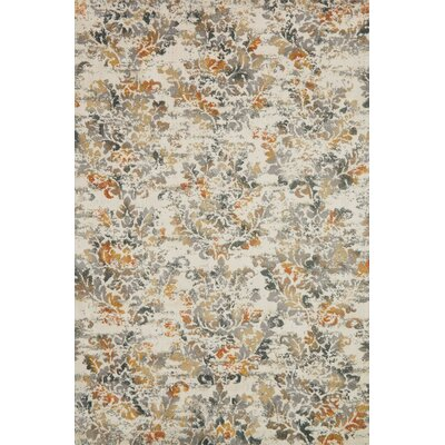Beige Area Rug Rug Size: Rectangle 67 x 92