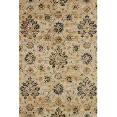 Beige Area Rug Rug Size: Rectangle 5 x 76