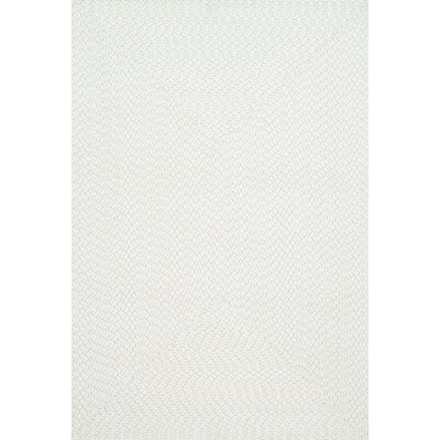 Wylie Hand-Woven Ivory Indoor/Outdoor Area Rug Rug Size: Rectangle 5 x 7
